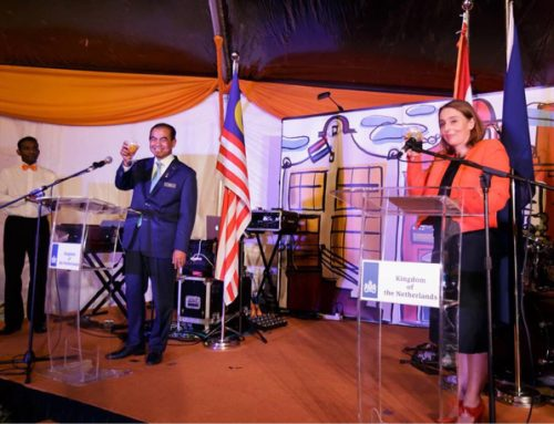 60th anniversary of diplomatic ties and friendship between the Netherlands and Malaysia National day reception, King's Day 2017